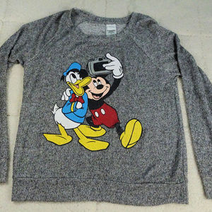 Disney Tops - Disney Mickey Mouse & Daffy Duck Shirt Medium